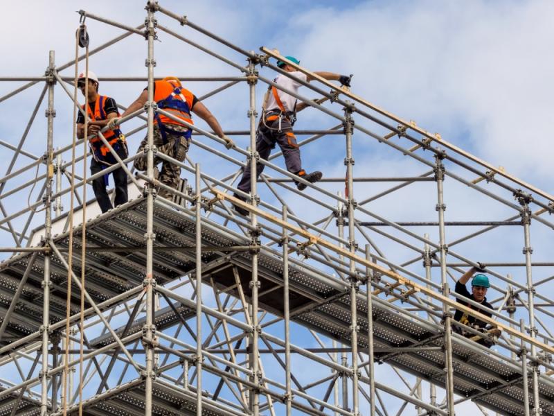 Aluguel de Andaime para Construção Civil no Jardins - Locação de Andaime para Construção Civil