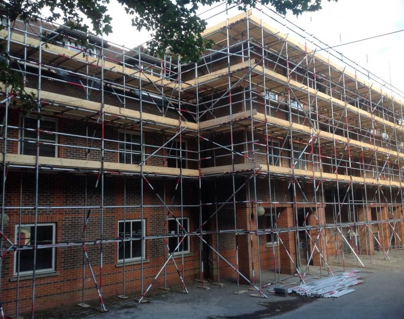 Aluguel de Andaime para Construtora na Saúde - Locação de Andaime para Construção