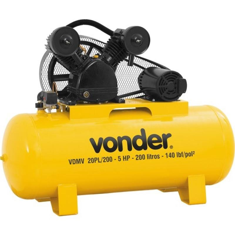 Aluguel de Compressor de Ar Preço Mooca - Locação de Compressor de Ar em Sp