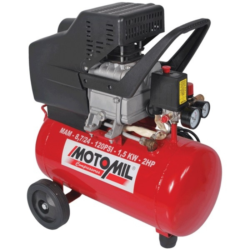 Empresa de Alugar Moto Compressor Santo Amaro - Compressor de Ar para Locação