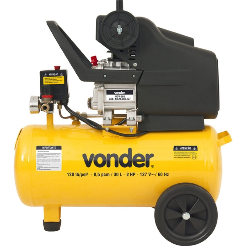Empresa de Compressor de Ar para Alugar Morumbi - Locação de Compressor de Ar