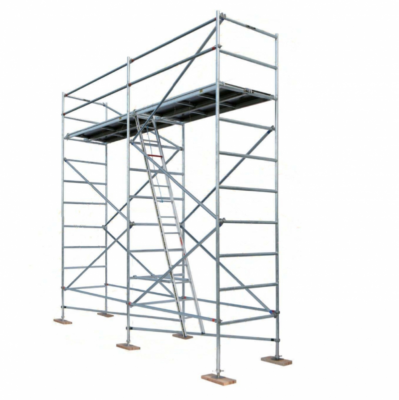 Locação de Andaime Fachadeiro na Luz - Aluguel de Andaime para Construção