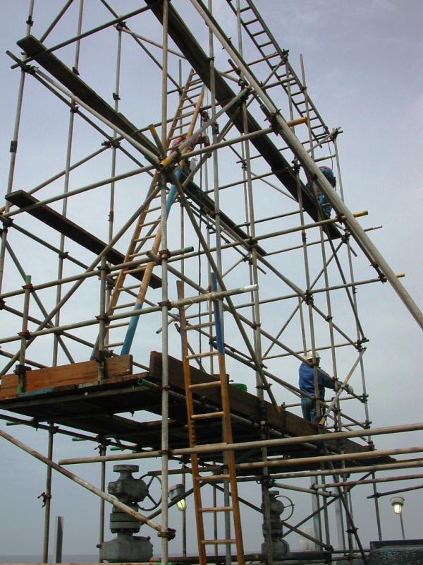 Locação de Andaime Hidráulico em Pinheiros - Locação de Andaime para Construtora
