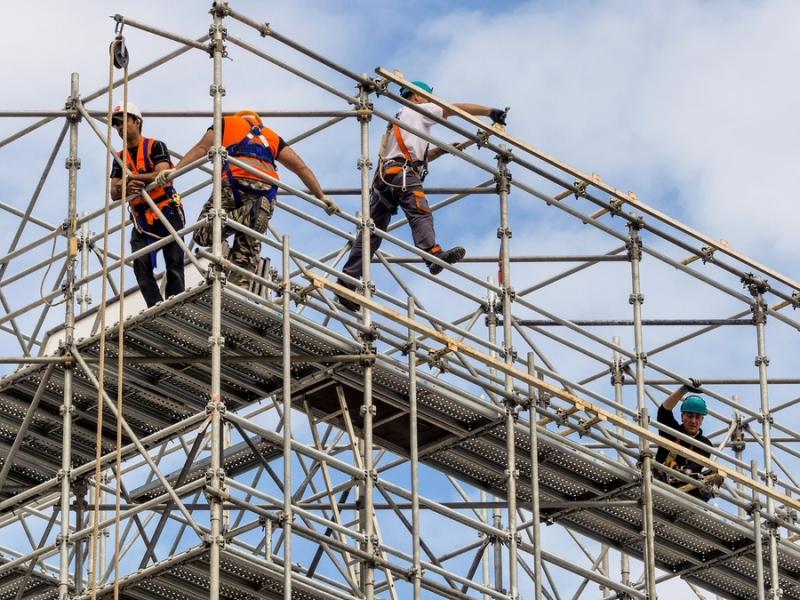 Locação de Andaime para Construção em Cajamar - Aluguel de Andaime de Ferro