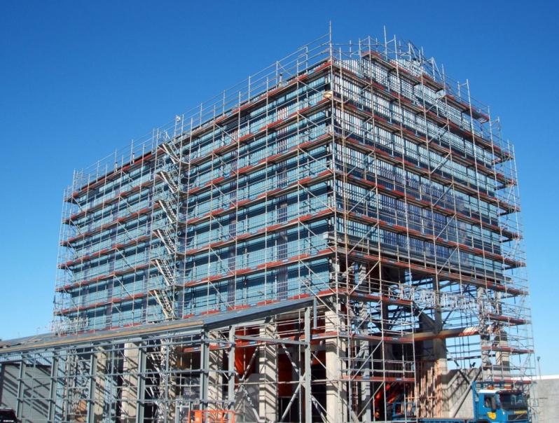 Locação de Andaime para Obra no Butantã - Aluguel de Andaime para Construtora