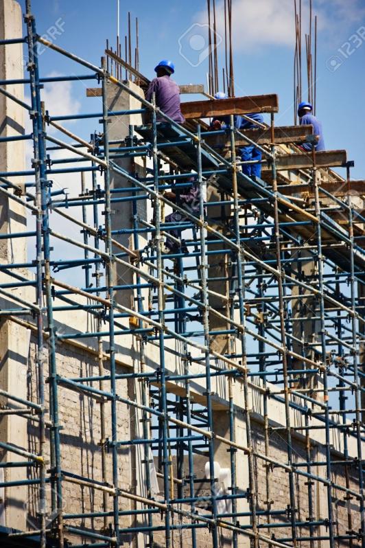 Onde Encontrar Locação de Andaime para Obra no Socorro - Aluguel de Andaime para Construção