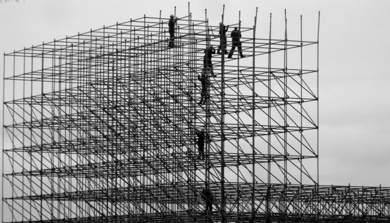 Quanto Custa Locação de Andaimes de Ferro Alto de Pinheiros - Locação de Andaimes de Ferro