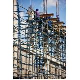 locação de andaime para construtora no Sacomã