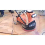 Locação de máquina de raspar piso de madeira Suzano